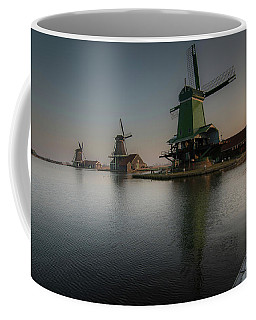 Windmill Sunrise Coffee Mug