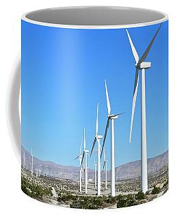 Windmills And Blue Skies Coffee Mug