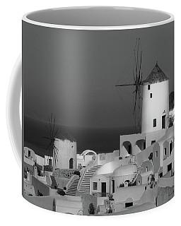 Windmills Of Santorini  Coffee Mug