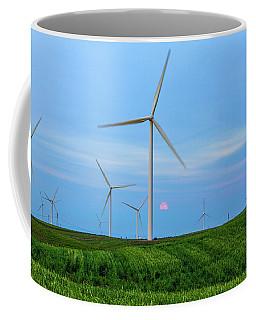 Coffee Mug featuring the photograph Windmills by Randy Bayne