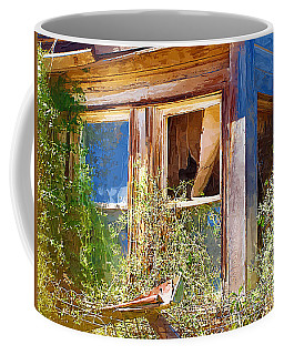 Coffee Mug featuring the photograph Window 2 by Susan Kinney