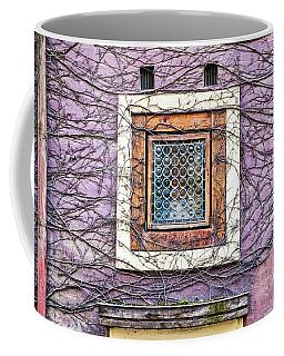 Window And Vines - Prague Coffee Mug