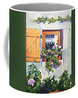 Window At St Saturnin Coffee Mug