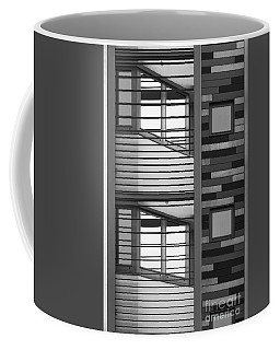 Vertical Horizontal Abstract Coffee Mug