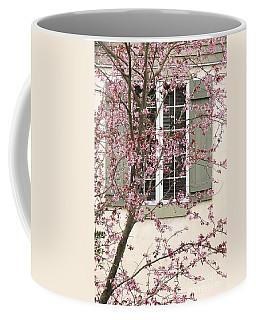 Window Blossoms Coffee Mug