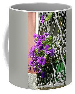 Window In Bloom Coffee Mug