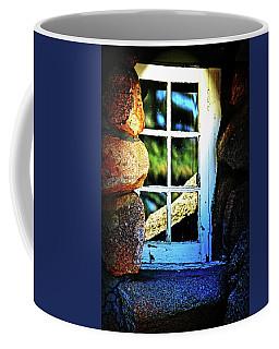 Window In Rock Coffee Mug