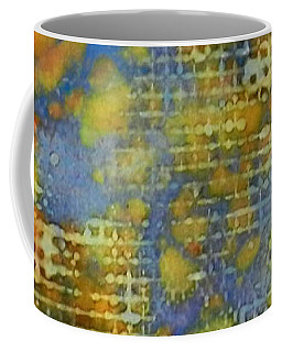 Coffee Mug featuring the painting Window Into Summer Ink #17 by Sarajane Helm