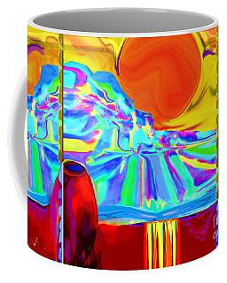 Window On Santa Fe No.4 Coffee Mug