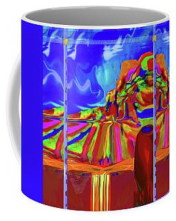 Window On Santa Fe Coffee Mug