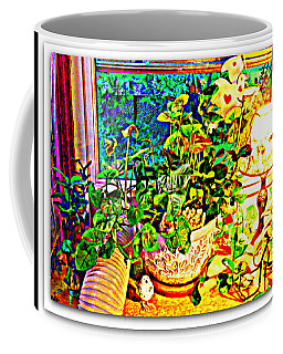 Window Plant Coffee Mug