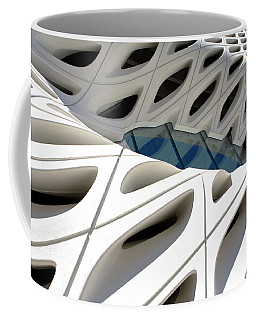 Coffee Mug featuring the photograph Window Pool At The Broad by Lorraine Devon Wilke