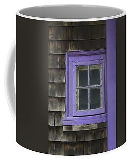 Purple Window - Window Series 04 Coffee Mug