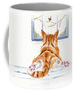 Window Shopping Coffee Mug