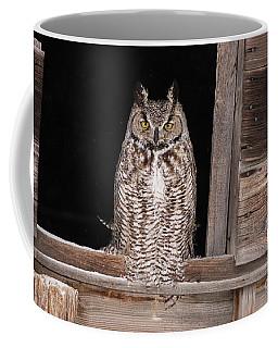 Window Sitting Coffee Mug