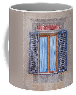 Window Sketch Of Tuscany Coffee Mug