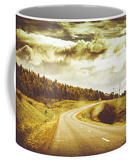 Window To A Rural Road Coffee Mug by Jorgo Photography - Wall Art Gallery