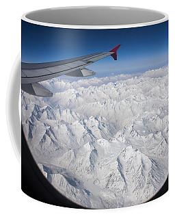 Window To Himalaya Coffee Mug