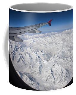 Window To Himalaya Coffee Mug by Hitendra SINKAR
