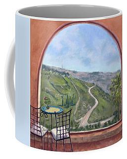 Window To Jerusalem Coffee Mug