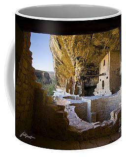 Window To The Past Coffee Mug
