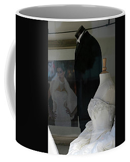 Window Wedding Attire Coffee Mug