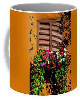 Windowbox Flowers Santa Fe Coffee Mug