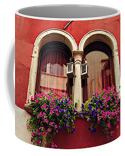 Windows In Venice Coffee Mug