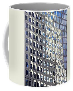 Coffee Mug featuring the photograph Windows Of 2 World Financial Center 2 by Sarah Loft