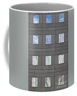 Coffee Mug featuring the photograph Windows Of 2 World Financial Center   by Sarah Loft
