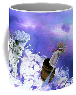 Coffee Mug featuring the painting Winds Of Fate  by Rene Capone