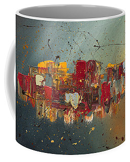 Coffee Mug featuring the painting Winds Of Prosperity by Carmen Guedez