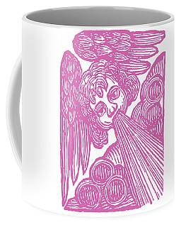 Coffee Mug featuring the drawing Winds Tess by Edward Fielding