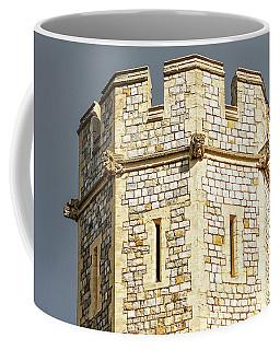 Coffee Mug featuring the photograph Windsor Castle Detail by Joe Winkler