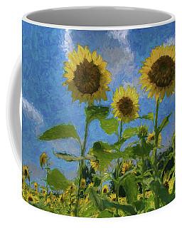 Windsor Castle Sunflowers Coffee Mug