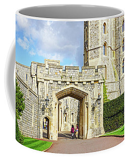 Coffee Mug featuring the photograph Windsor Castle Walk by Joe Winkler
