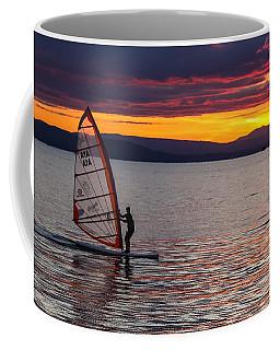 Windsurfing Lake Champlain Coffee Mug