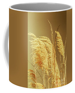 Windswept Autumn Brush Grass Coffee Mug