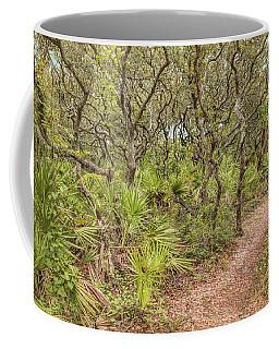 Coffee Mug featuring the photograph Windswept Hammock by John M Bailey