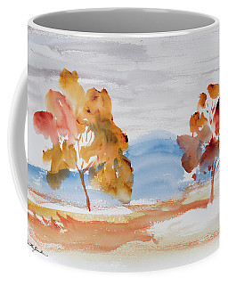 Windy Autumn Colours  Coffee Mug