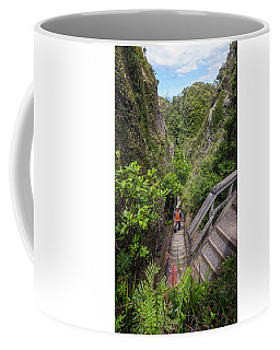 Windy Canyon Great Barrier Island New Zealand Coffee Mug