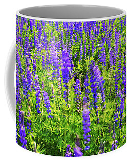 Windy Lupines By Brad Scott Coffee Mug