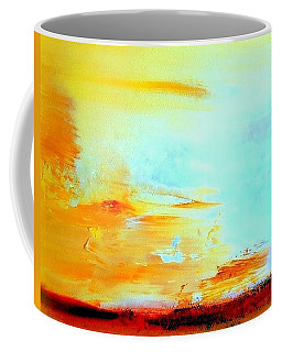 Windy Weather - Blown Away Coffee Mug