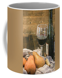 Wine And Pears Coffee Mug