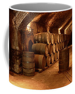 Wine Barrels In A Cellar, Buena Vista Coffee Mug