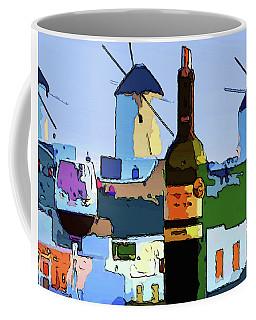 Wine In Mykonos Coffee Mug