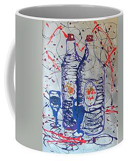 Coffee Mug featuring the painting Wine Jugs by J R Seymour