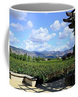 Coffee Mug featuring the photograph Wine Please by Corinne Rhode