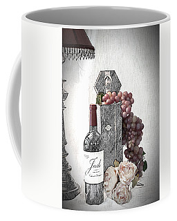 Coffee Mug featuring the photograph Wine Tasting Evening by Sherry Hallemeier
