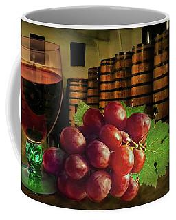 Coffee Mug featuring the photograph Wine Tasting by Hanny Heim